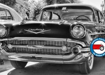 Exposition de voitures anciennes à Mascouche
