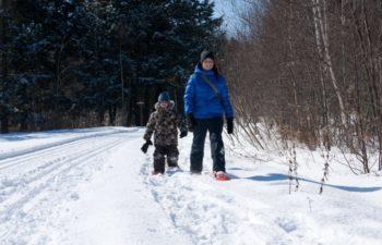 Parc du Grand-Coteau (hiver)