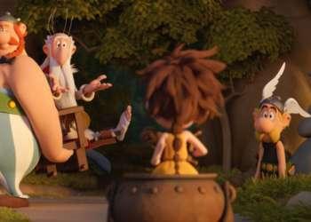 Cinéma en plein air à Mascouche: Astérix et le Secret de la potion magique