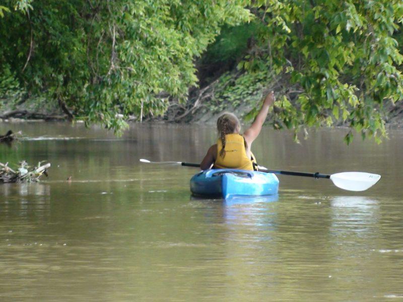 Kayak sur la rivière Mascouche