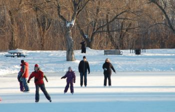 Parc du Grand-Coteau (Ice rink and cross-country skiing)