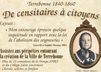 Théâtre historique : De censitaires à citoyens