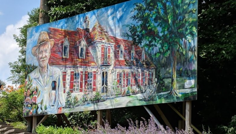 Jardin Moore - Oeuvre réalisée par Patrick Lavalée