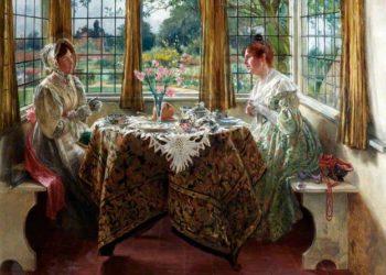 Le thé à l'heure du régime britannique