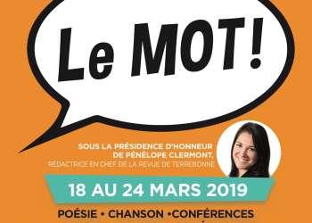 Le Mot - Festival de la Francophonie des Moulins