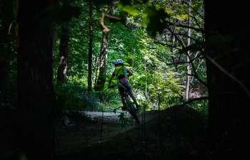 Sentiers de vélo de montagne