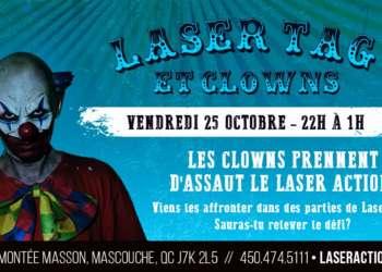 Laser Tag & Clowns- Festival Frissons