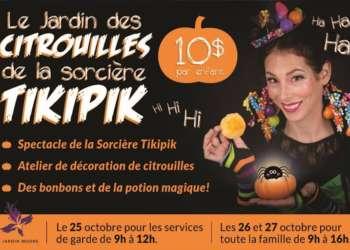 Le Jardin des citrouilles de la sorcière Tikipik