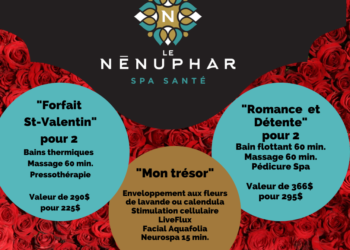 Forfaits Spa Santé Le Nénuphar