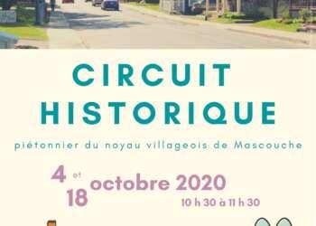 Circuit historique piétonnier du noyau villageois de Mascouche